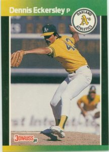 1989 Donruss Dennis Eckersley