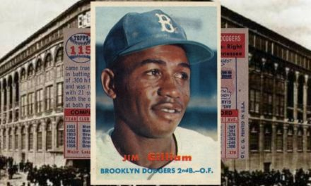 Is the 1957 Topps Jim Gilliam Baseball Card the Best of the Fifties?