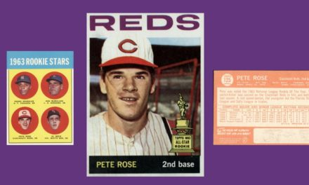 Is It a Felony to Love the 1964 Topps Pete Rose Baseball Card?