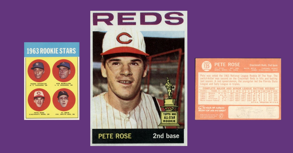 Is It A Felony To Love The 1964 Topps Pete Rose Baseball