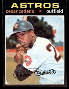 1971 Topps Cesar Cedeno