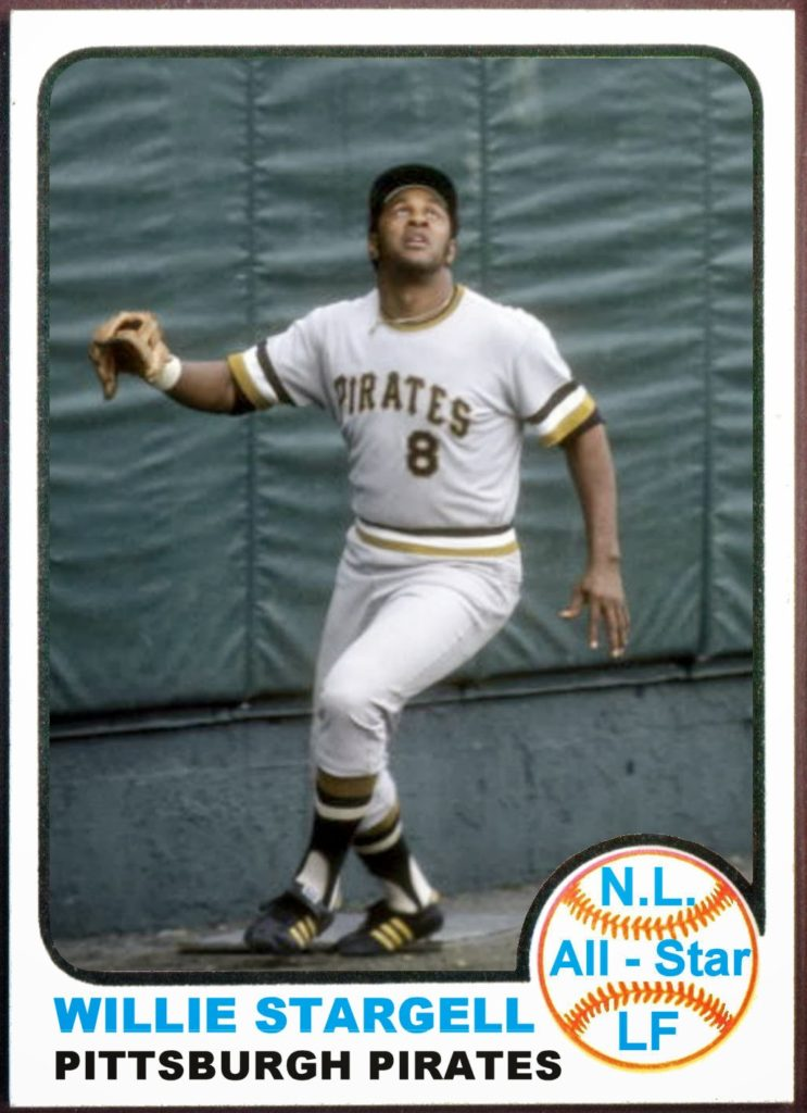 1973 Topps All Star LF Willie Stargell