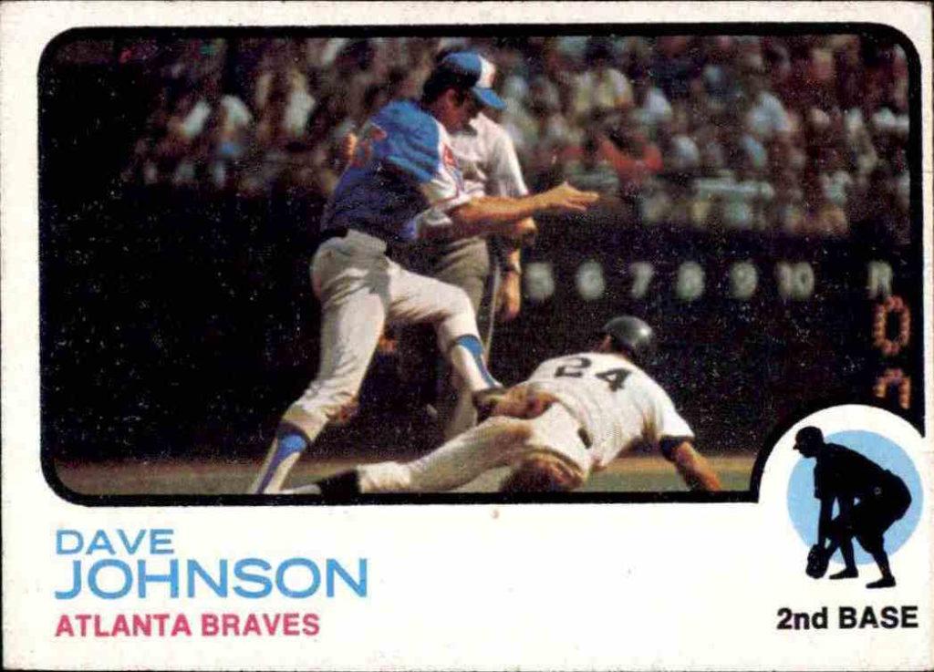 1973 Topps Davey Johnson