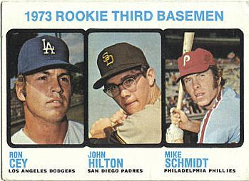 1973 Topps Mike Schmidt Ron Cey Rookie Card