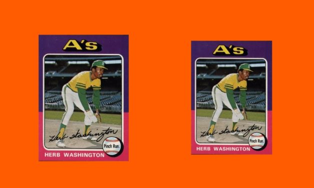 How 'Mini' of These 1975 Topps Herb Washington Rookie Cards Do YOU Own?