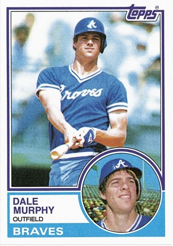 10 Reasons I Cant Stand Dale Murphy And His Despicable 1983 Topps