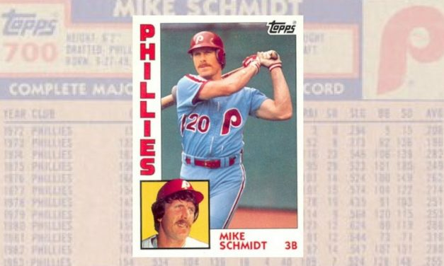 The Early Bird Splurges … on 1984 Topps Mike Schmidt