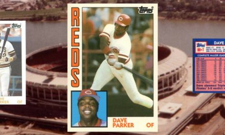 Cobra Strike — 1984 Topps Traded Dave Parker Made Me Believe