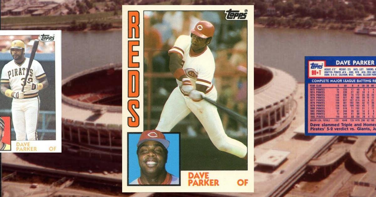 Cobra Strike — 1984 Topps Traded Dave Parker Made Me Believe