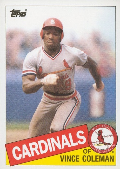 1985 Topps Traded Vince Coleman