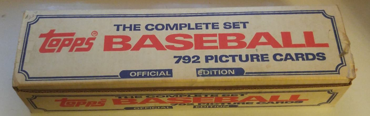 1986 Topps Complete Set