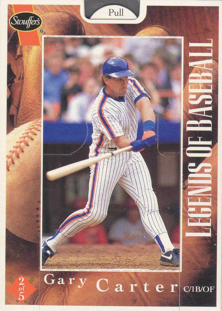 1995 Stouffer's Legends of Baseball Gary Carter