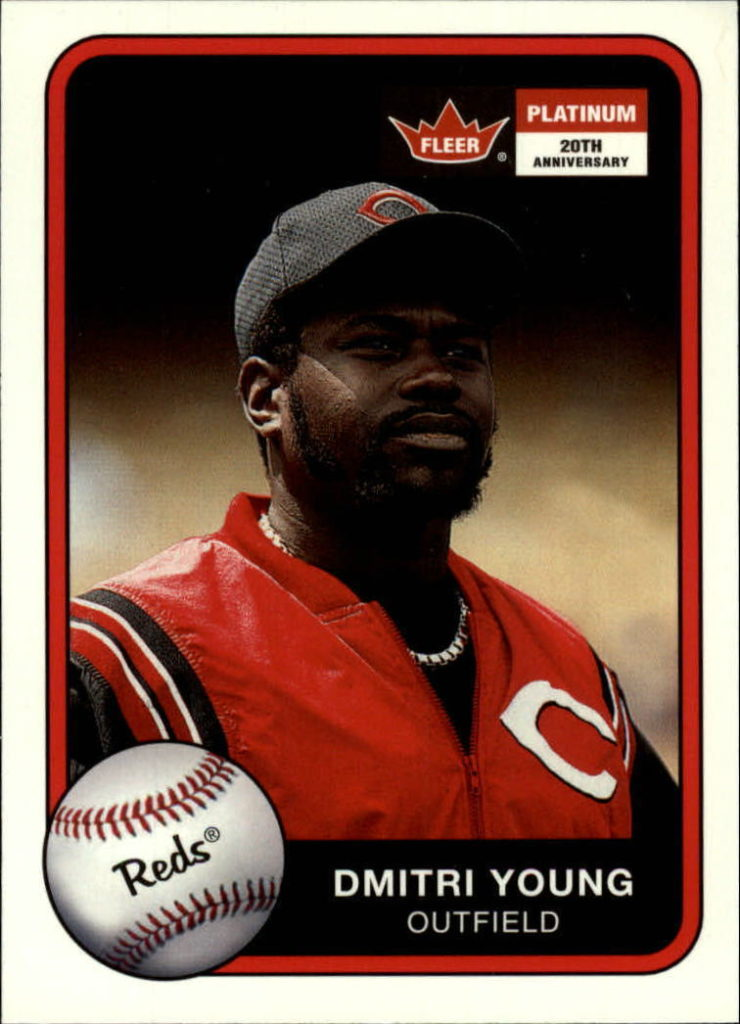 2001 Fleer Platinum Dmitri Young