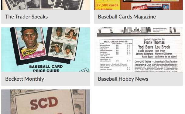 Which Was Your Favorite Old-Time Baseball Cards Publication?