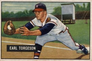 1951 Bowman Earl Torgeson