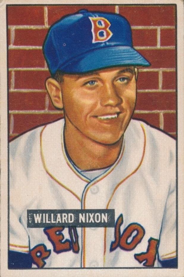 1951 Bowman Willard Nixon