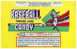 1951 Topps Wrapper