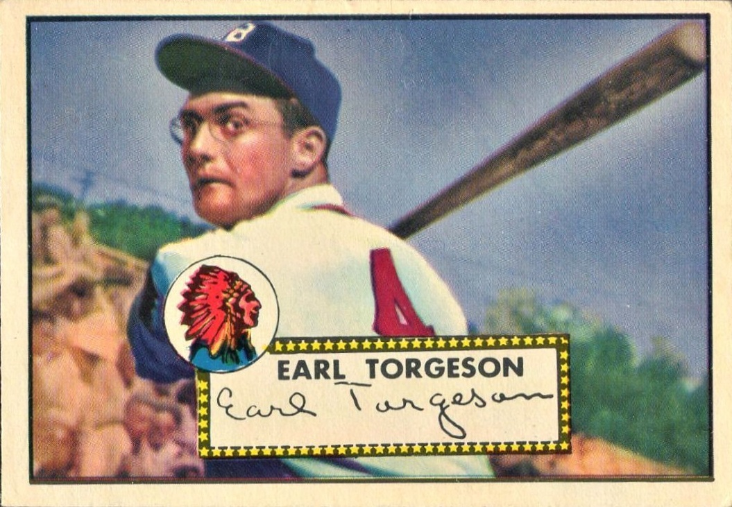 1952 Topps Earl Torgeson