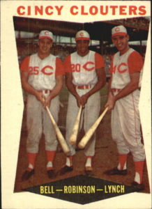 1960 Topps Cincy Clouters