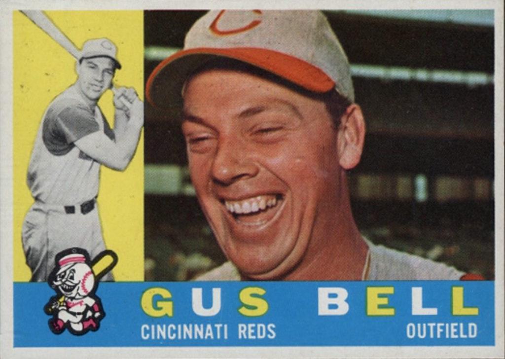 1960 Topps Gus Bell