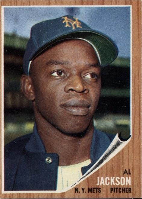 1962 Topps Al Jackson