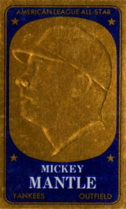 1965 Topps Embossed Mickey Mantle