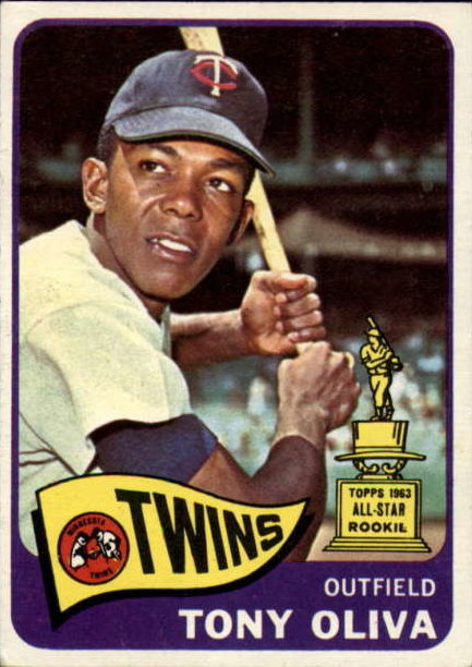 6 Reasons The 1965 Topps Tony Oliva Is One Of The Greatest Baseball