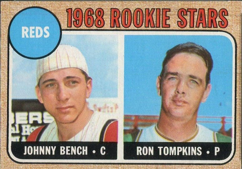 1968 Topps Johnny Bench