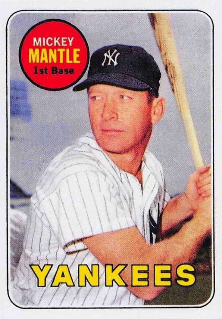 Mickey Mantle Baseball Cards Complete Visual Guide To The