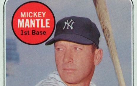 7 Reasons Mickey Mantles Last Topps Card Was The Best Of 1969