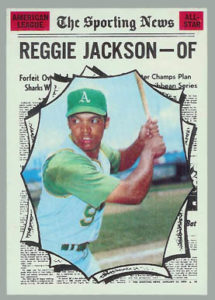 1970 Topps All-Star Reggie Jackson
