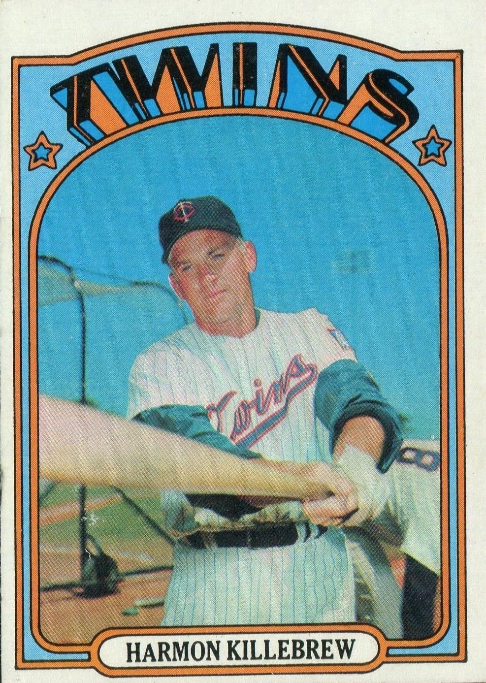 1972 Topps Harmon Killebrew