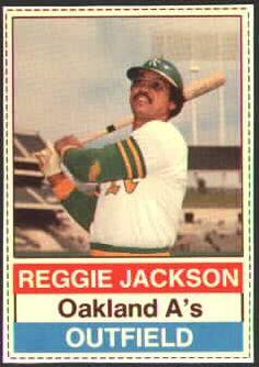 1976 Hostess Reggie Jackson