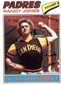 1977 Topps Randy Jones