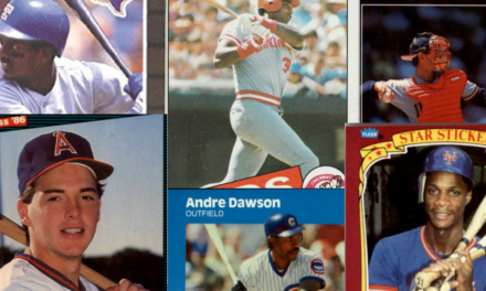 The Slammin' Baseball Cards of 1980s Home Run Derby Winners