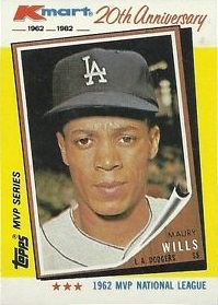 1982 KMart Maury Wills