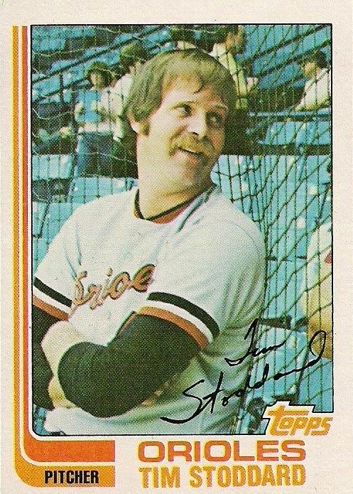 1982 Topps Tim Stoddard