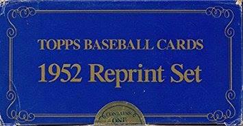 1983 Topps 1952 Topps Reprint Set