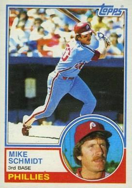 1983 Topps Mike Schmidt