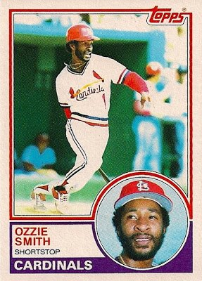 1983 Topps Ozzie Smith