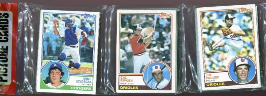 1983 Topps Rack Pack