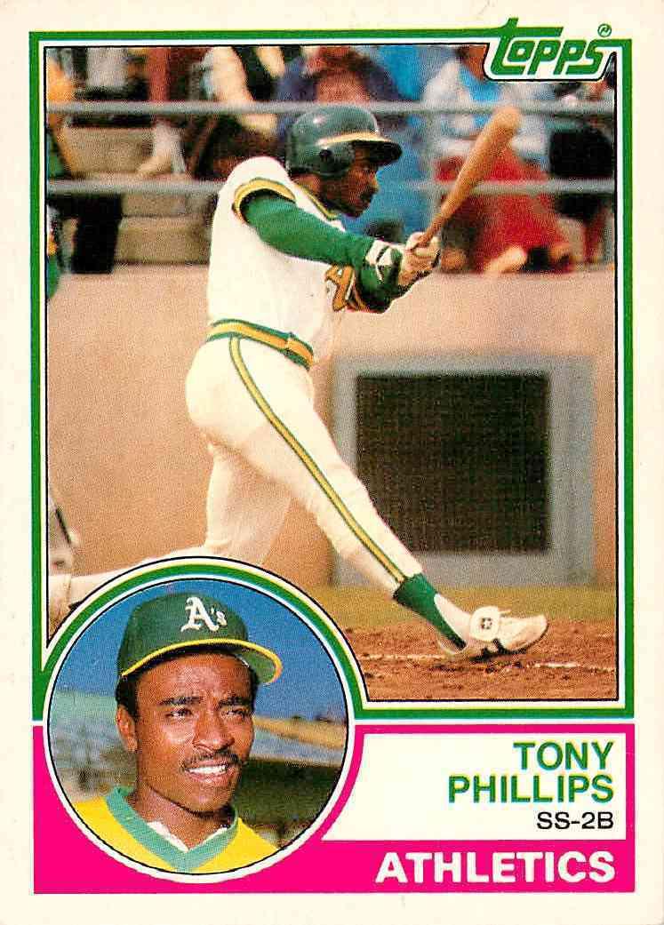 1983 Topps Traded Tony Phillips