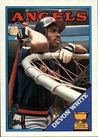 1988 Topps Devon White