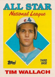 1988 Topps Tim Wallach All-Star