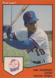 1989 ProCards Ivan Rodriguez
