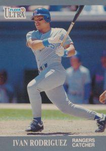 1991 Fleer Ultra Ivan Rodriguez