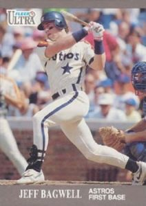 1991 Fleer Ultra Update Jeff Bagwell