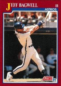 1991 Score Rookie and Traded Jeff Bagwell