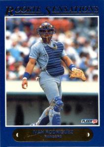 1992 Fleer Rookie Sensations Ivan Rodriguez