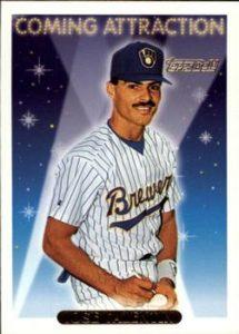 1993 Topps Gold Jose Valentin